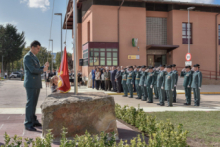 La Guardia Civil homenajea a su patrona en Reinosa