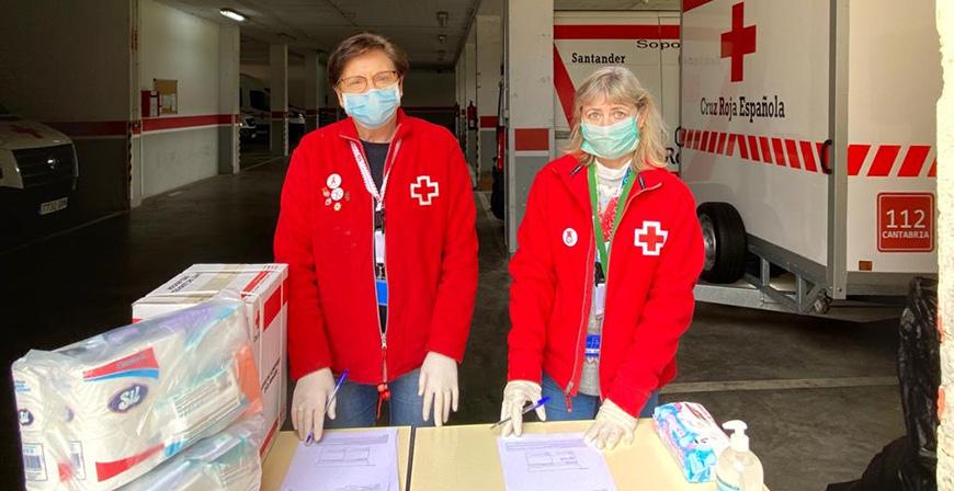 Cruz Roja Cantabria lanza el plan Responde frente al COVID-19