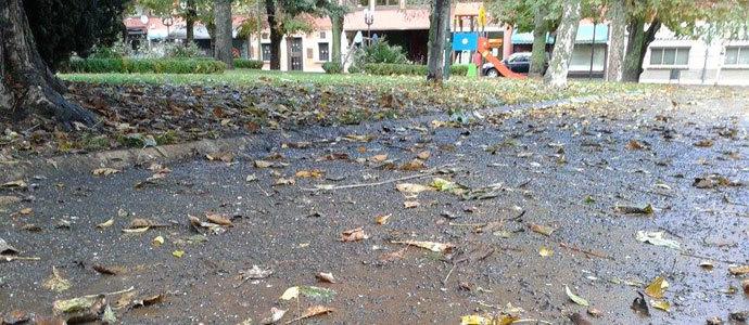 Estado del suelo del parque de cupido - Parque suelo ...