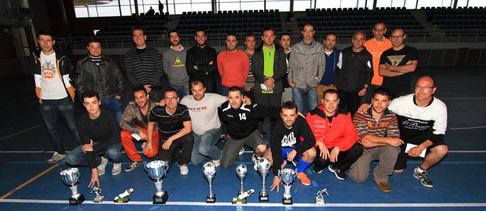 La liga comarcal de f tbol sala entreg sus premios for Federacion de futbol sala